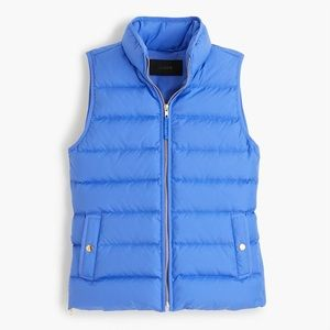 J.Crew Periwinkle Mountain Puffer Vest